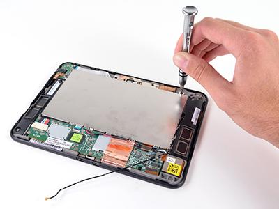 Alcor tablet kijelző javítás